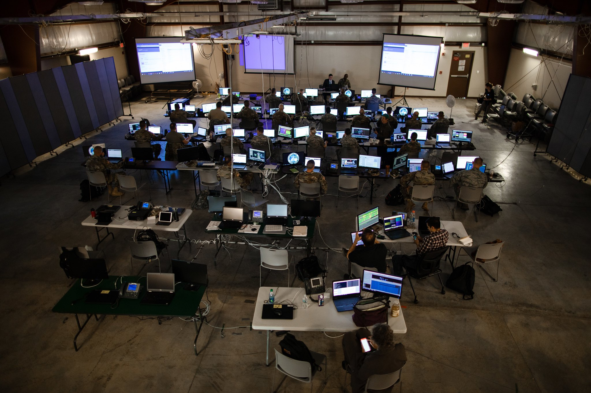 Several prime contractors are pursuing a $1 billion contract that includes developing the Persistent Cyber Training Environment. (Army Cyber Command)