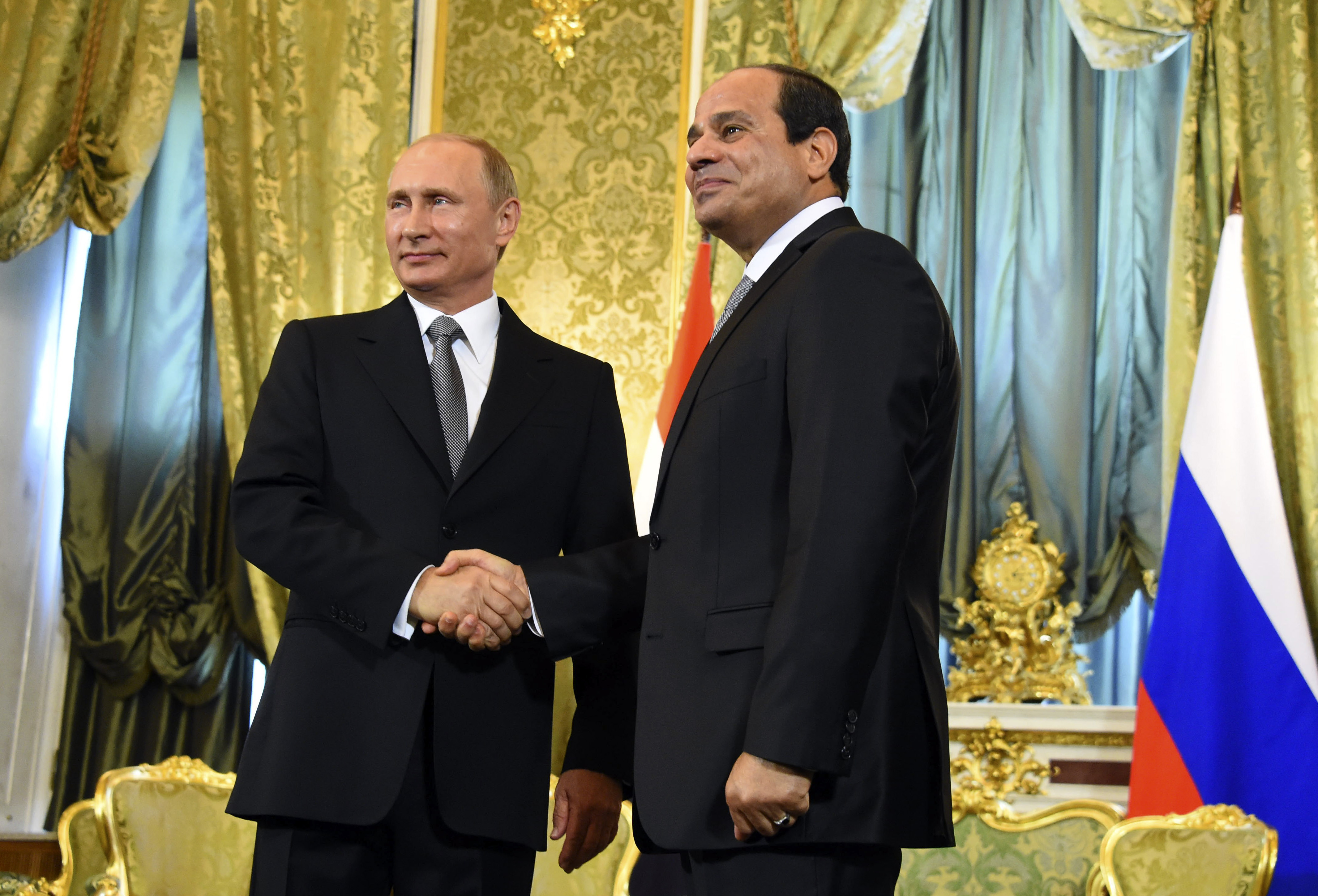 Russia negotiates deal for its warplanes to use Egypt bases