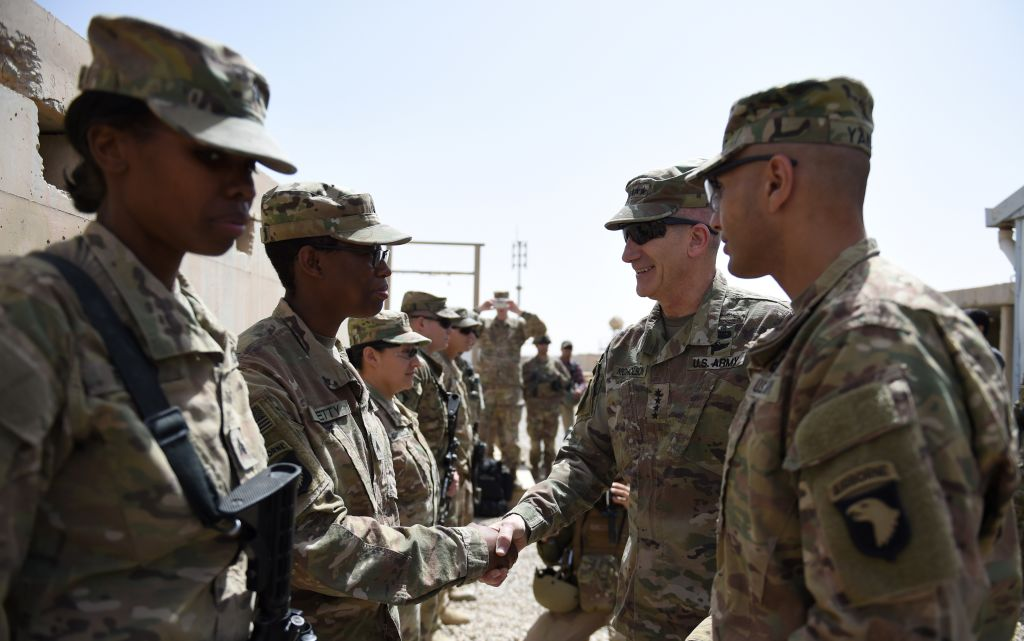 Mattis: Withdrawal, contractors still options for Afghanistan