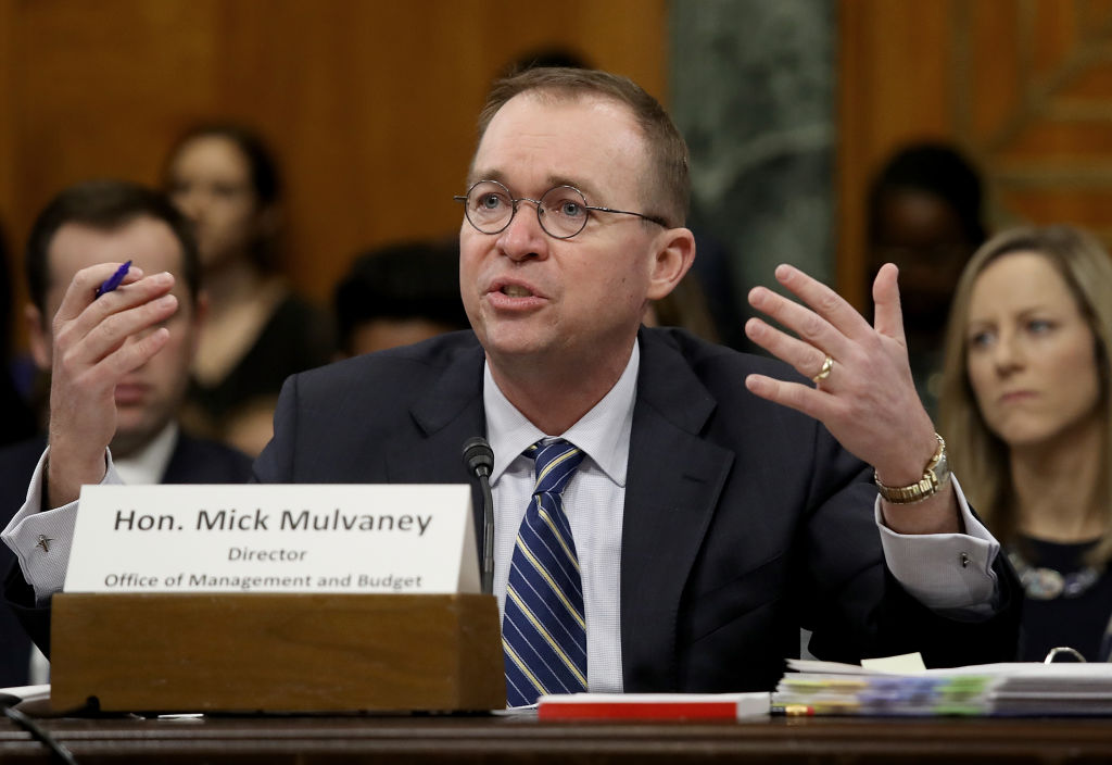 White House budget chief: Military was more important than deficit cutting