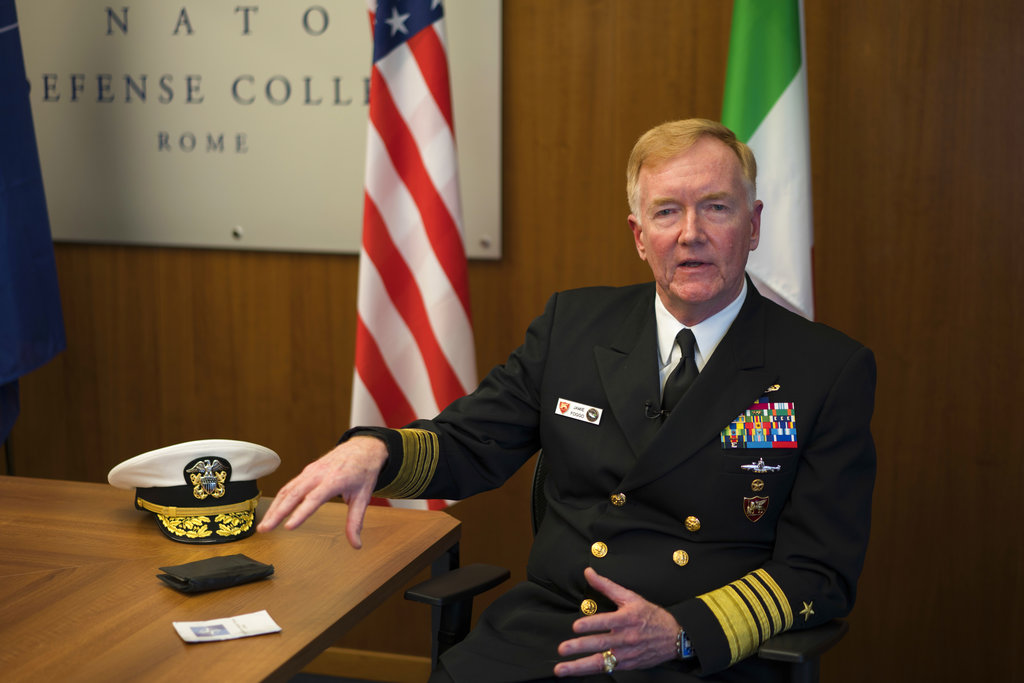 Russia uses Syrian war to boost Mediterranean presence, US Navy admiral says