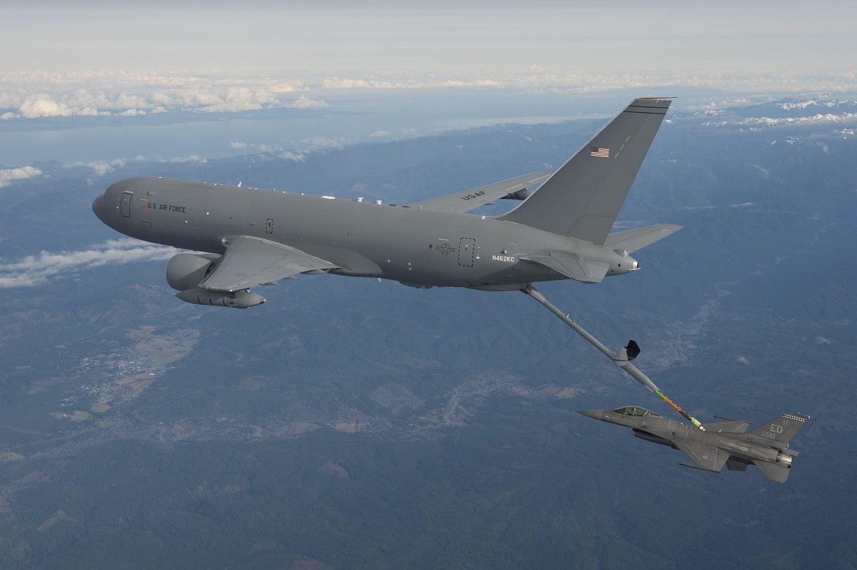 KC-46 refueling tanker receives one of two FAA certifications