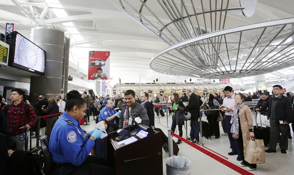 The Passenger Screening Algorithm Challenge awarded prizes to eight contestants who developed algorithms to improve the airport security screening process. (Mark Lennihan/AP)