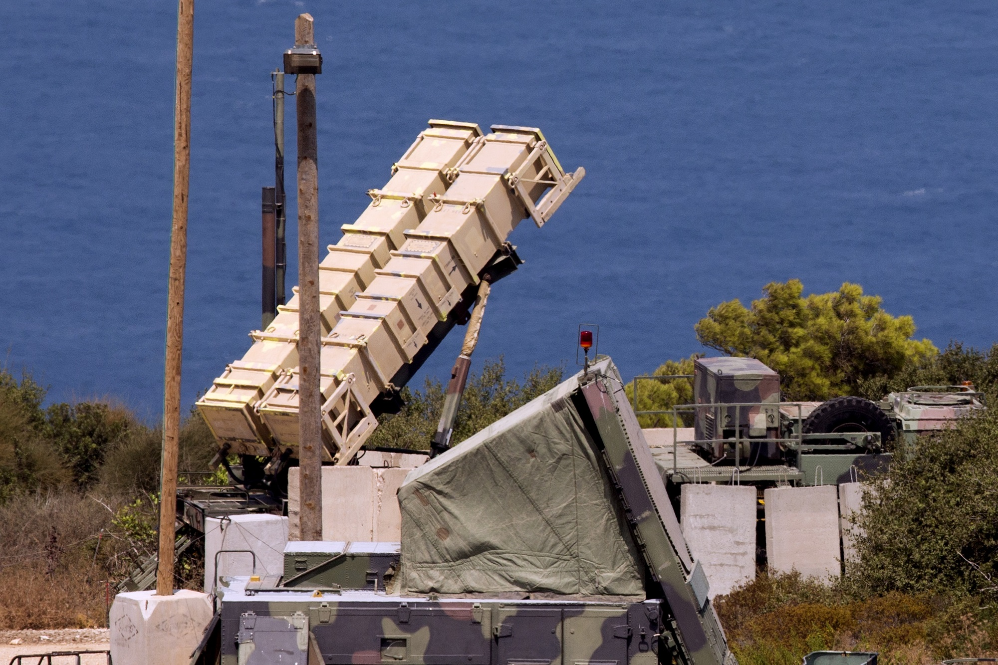 Israel uses Patriot missile to shoot down drone