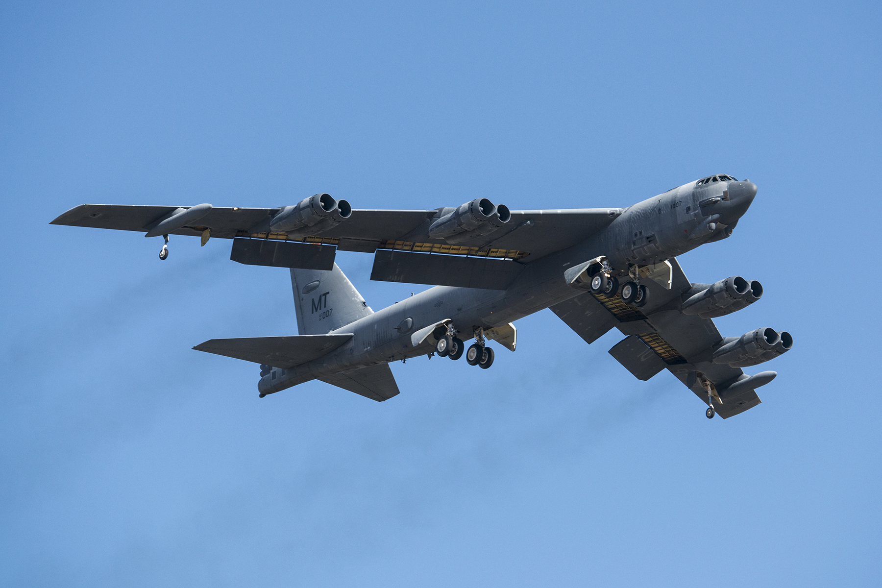 Air Force B-52s patrol South China Sea