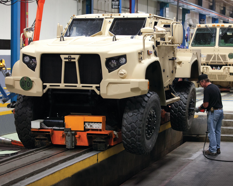 British Army Works to Secure Oshkosh JLTV