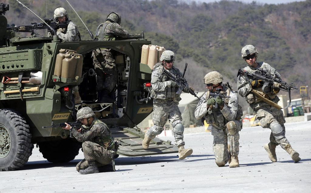 US-South Korean military exercises to begin April 1