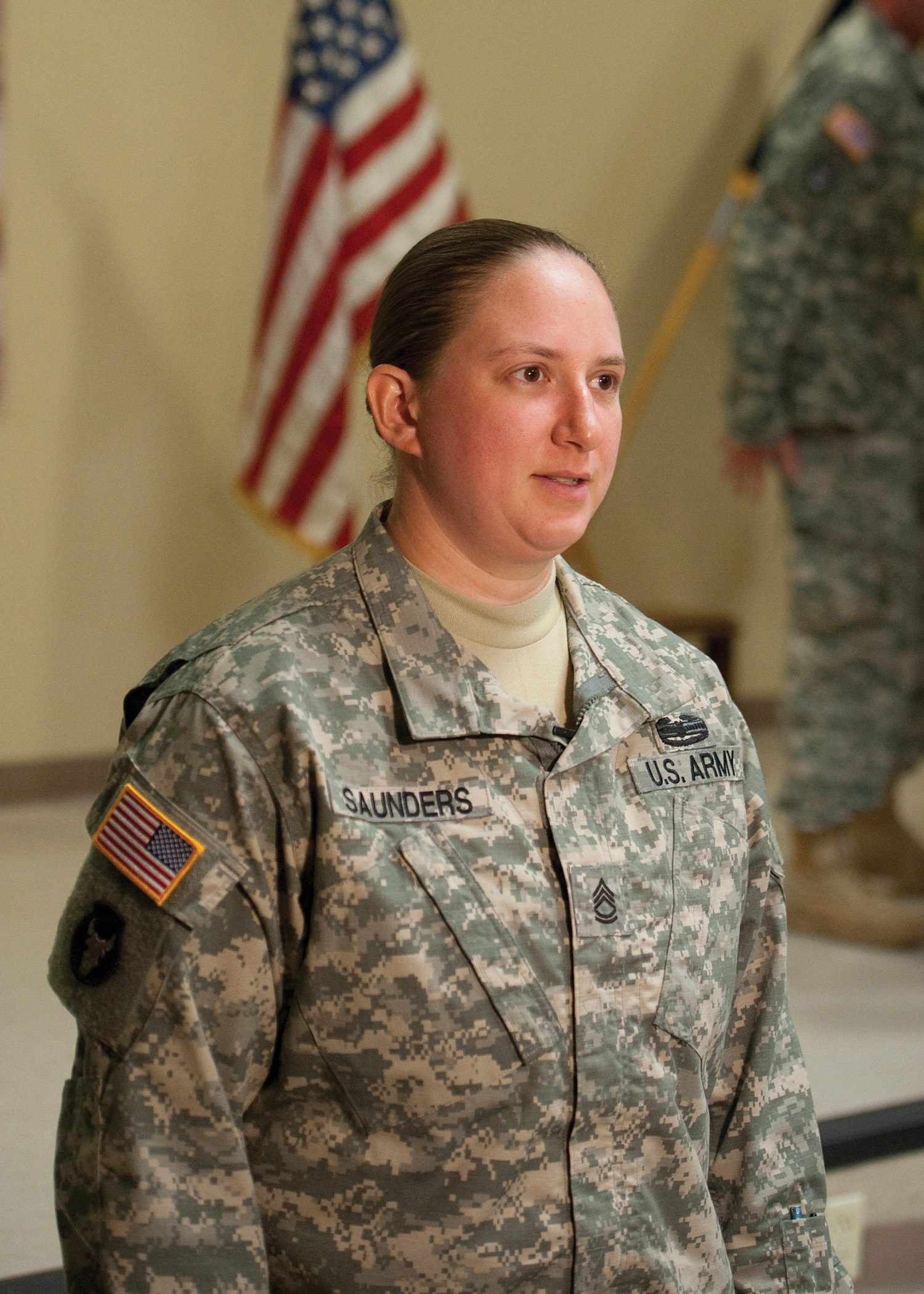 Army's 1st female Master Gunner brings weapons training expertise to Reserve unit
