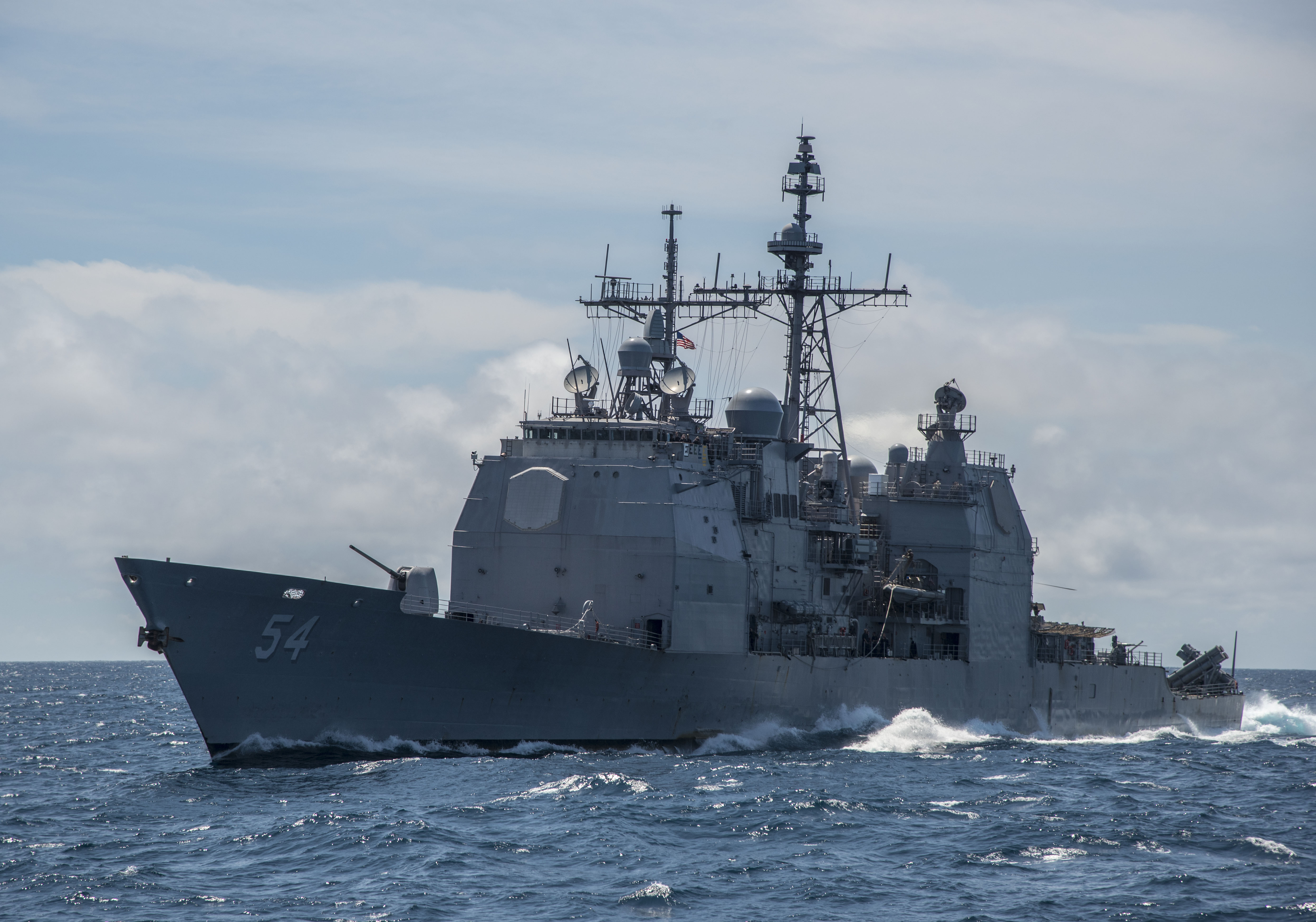 Officials: Navy cruiser ran aground near Japan