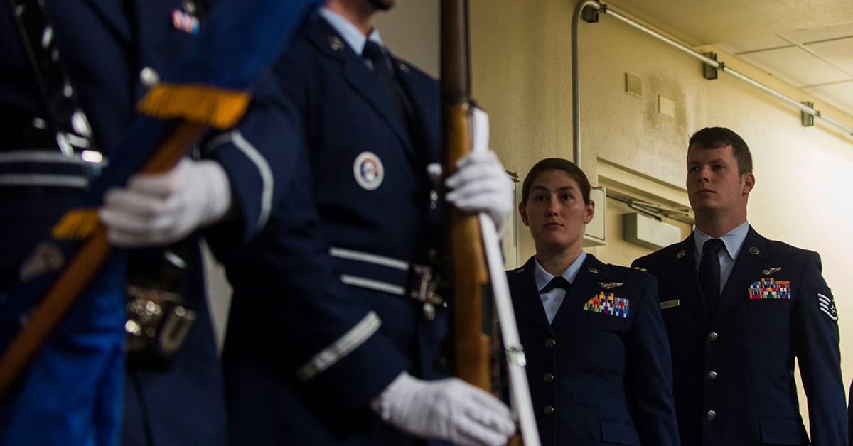 Airmen receive Distinguished Flying Cross for airdrop under fire in Afghanistan