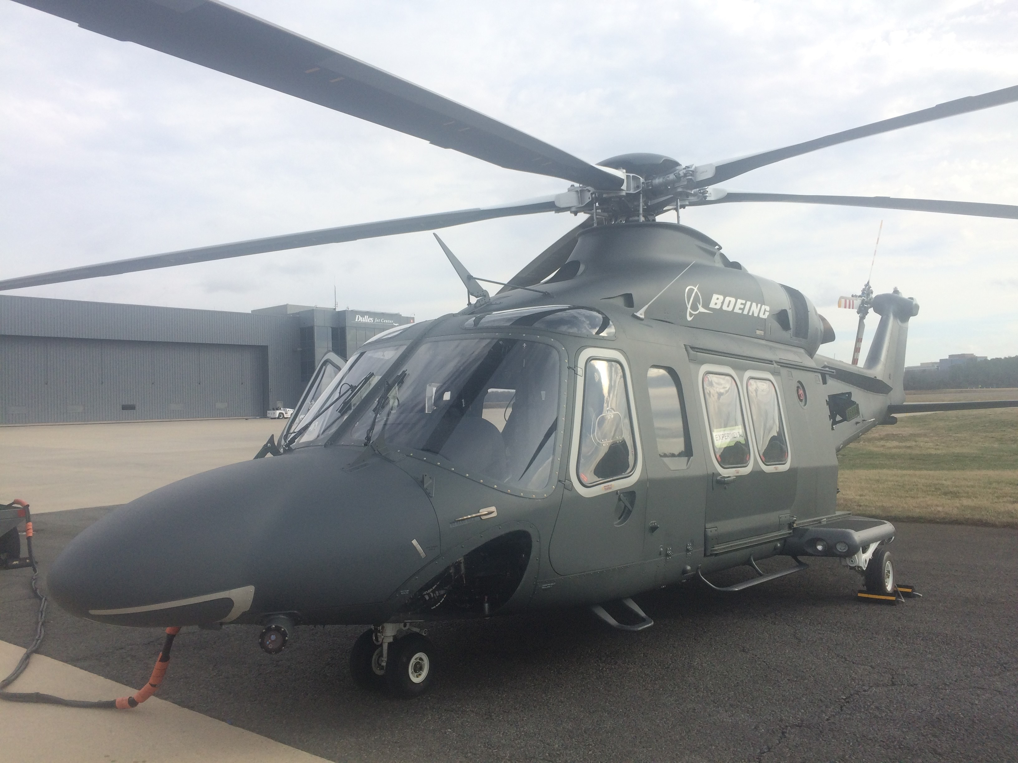 Boeing and Leonardo debut the MH-139, their bid for the Huey replacement