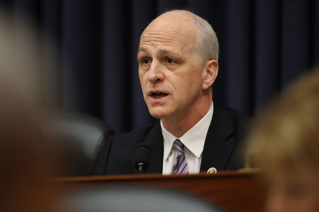 House Armed Services Committee ranking member Rep. Adam Smith (D-WA) spoke at the second annual Defense News Conference, Sept. 5 2018. (Chip Somodevilla/Getty Images)