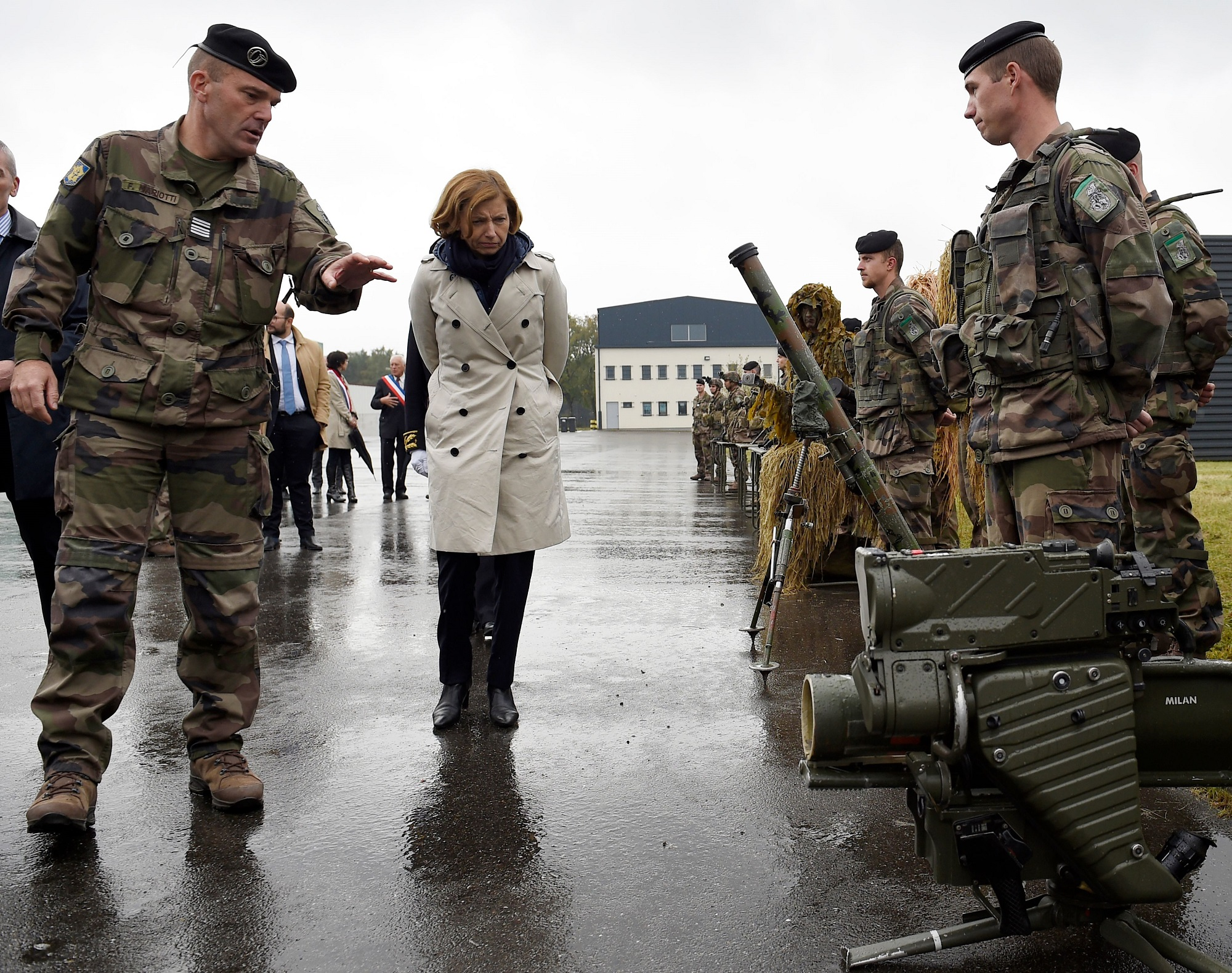 French defense minister: European defense industry needs export to survive