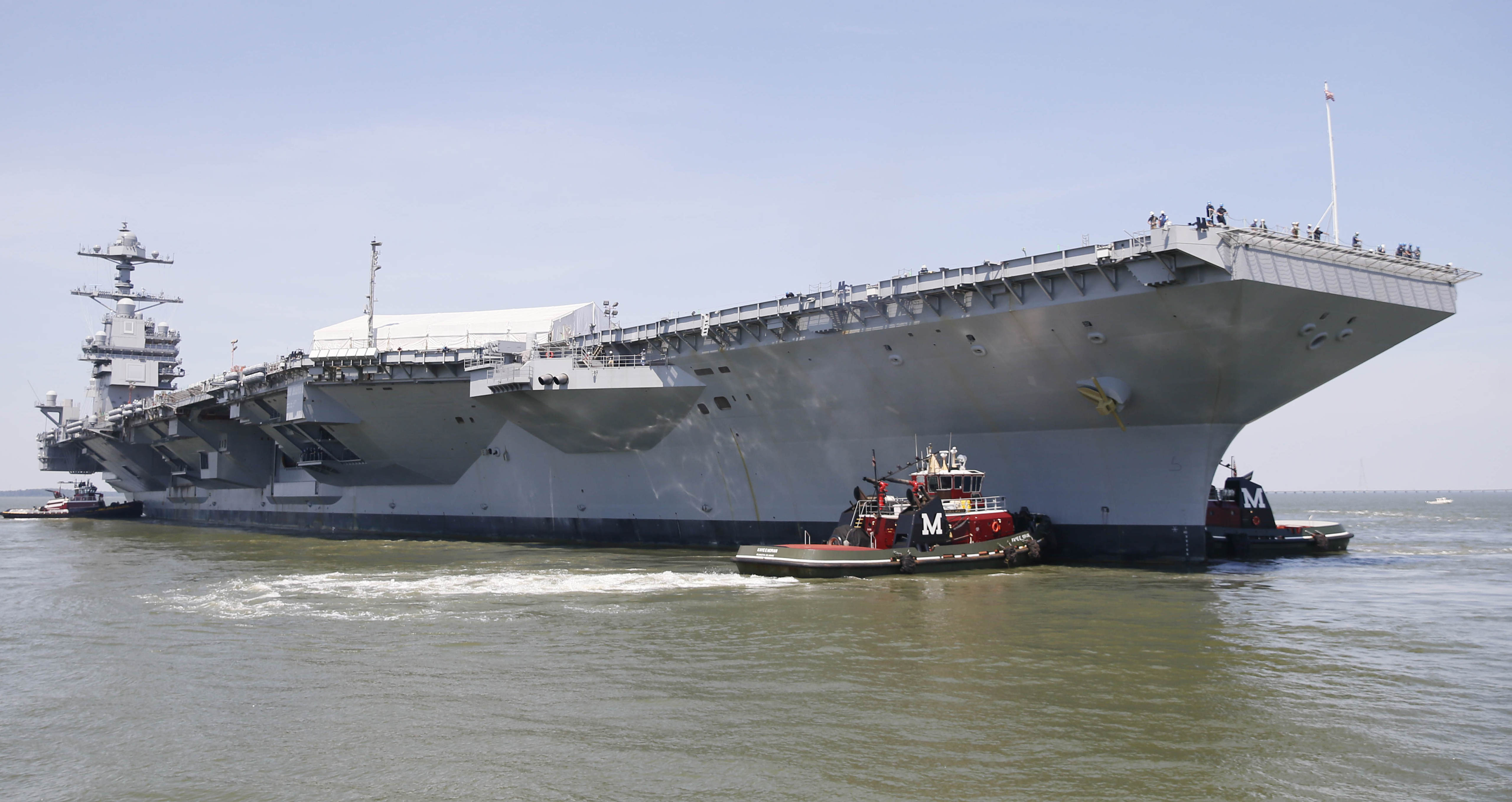 Carrier Ford Has Serious Power Problem