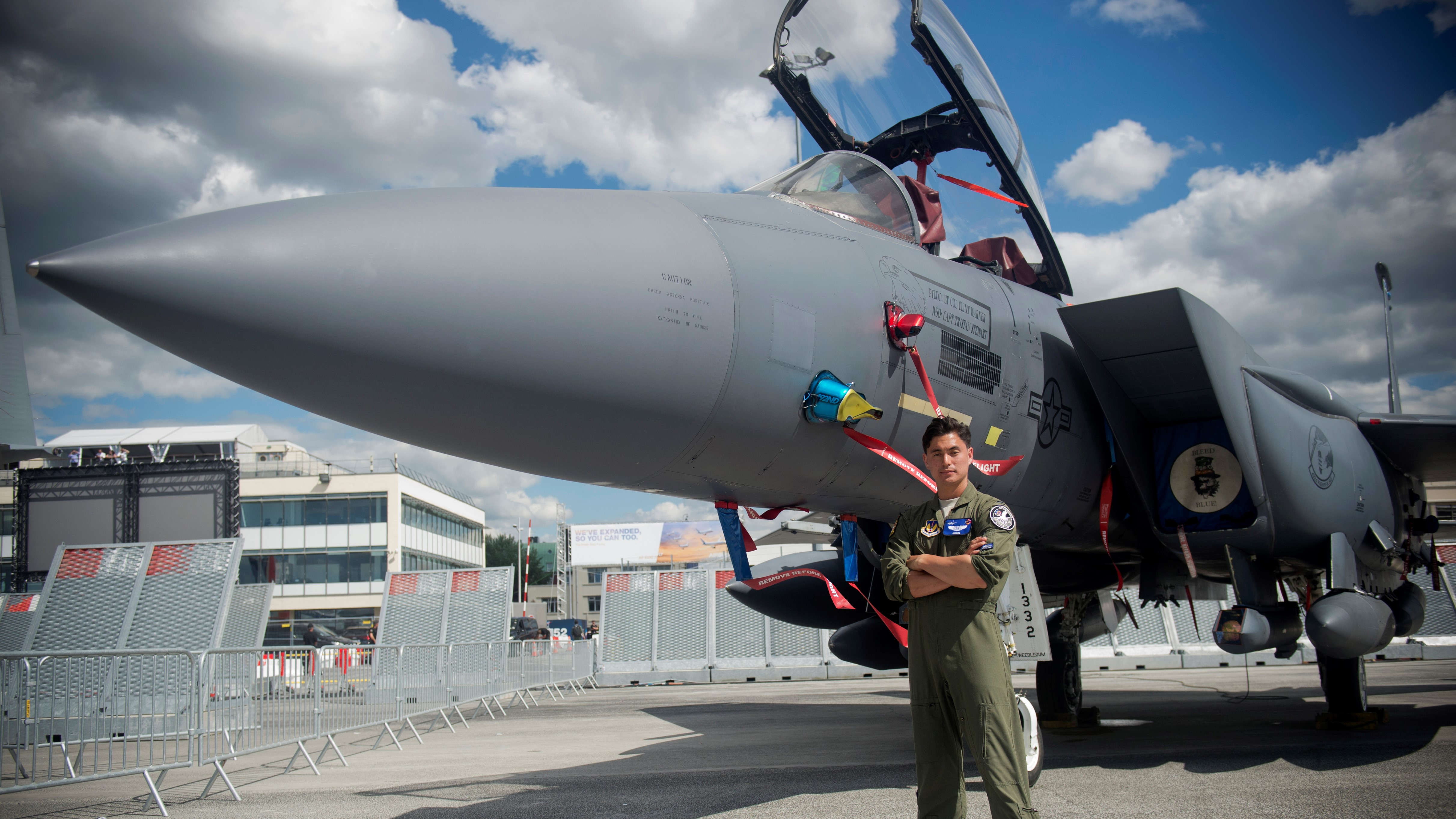 A top official wasn't surprised that ethical hackers, invited to crack a data transfer system for the F-15 tactical fighter aircraft, managed to get in, but he was surprised how. (Master Sgt. Eric Burks/Air Force)