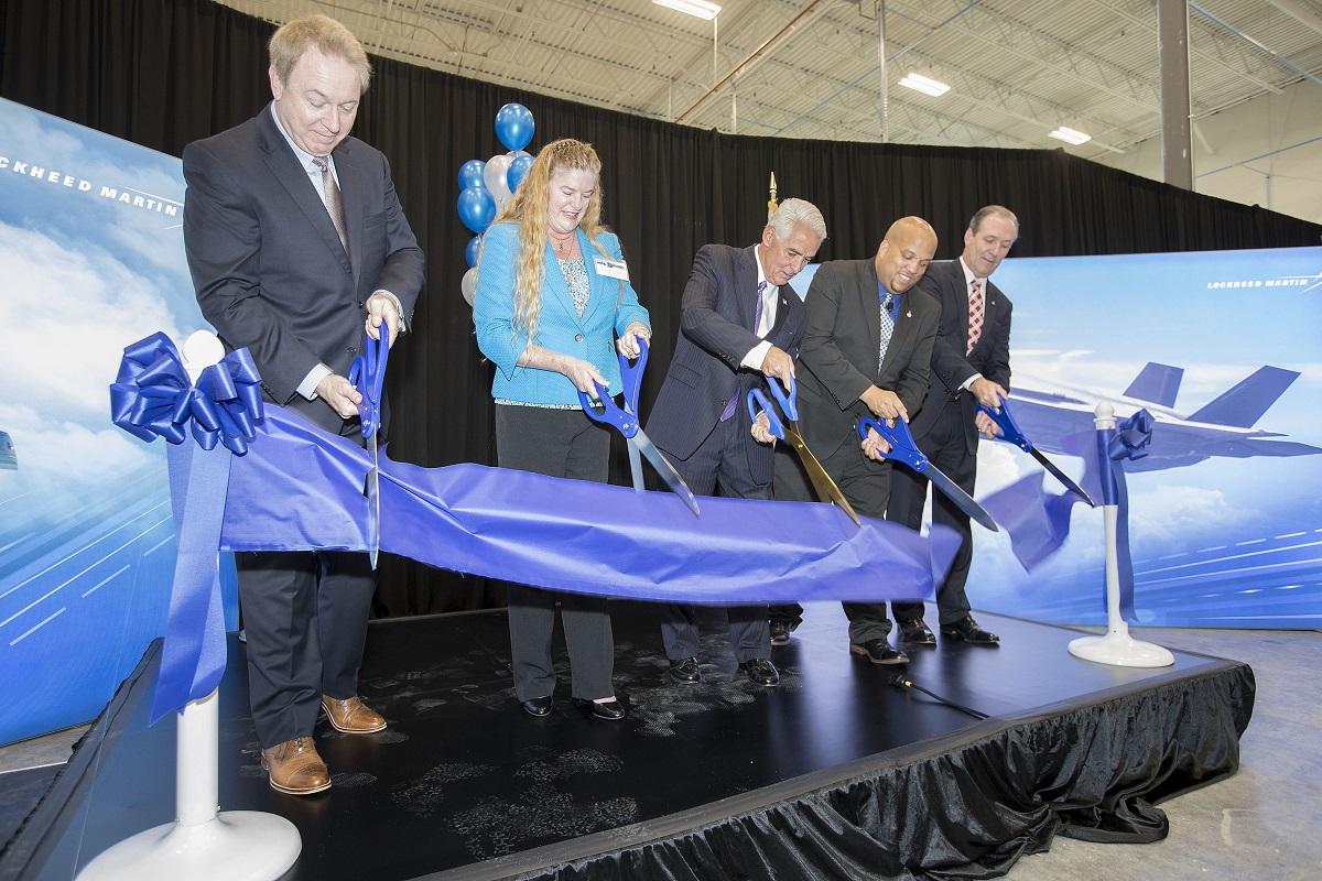 Lockheed opens new F-35 facility