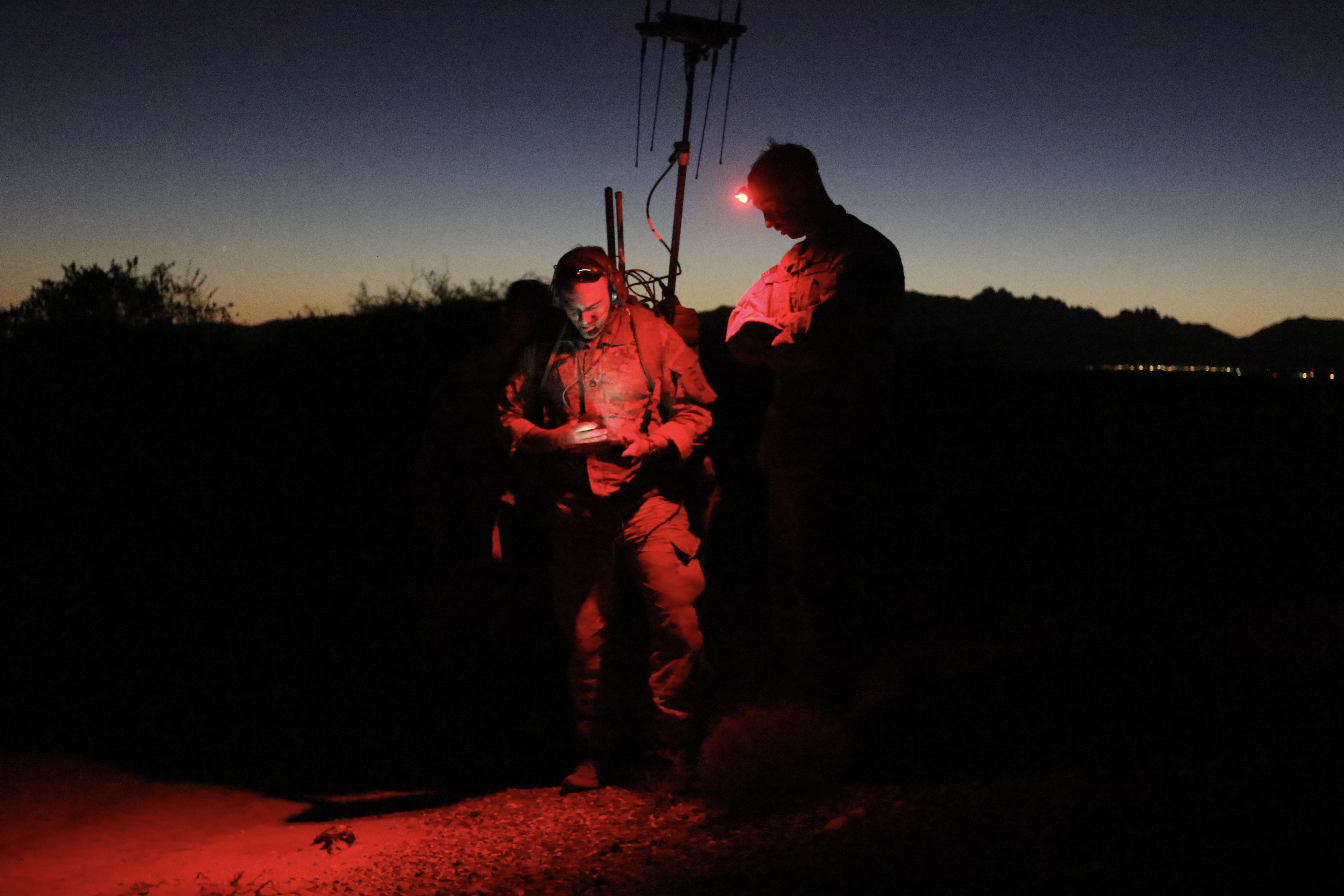 IN THE READ: Recent directives have made clear the importance of U.S. military regaining advantage in the electromagnetic spectrum. (Sgt. Cody Parsons/Army)
