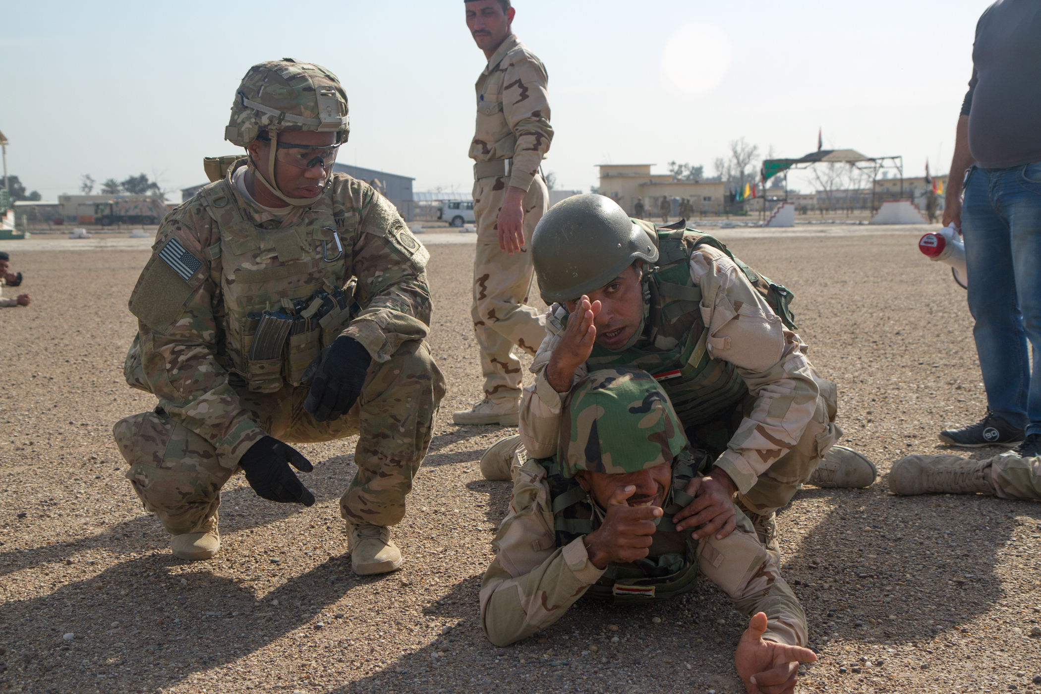 iraqi us build training watches soldiers with ranger army article elite force original