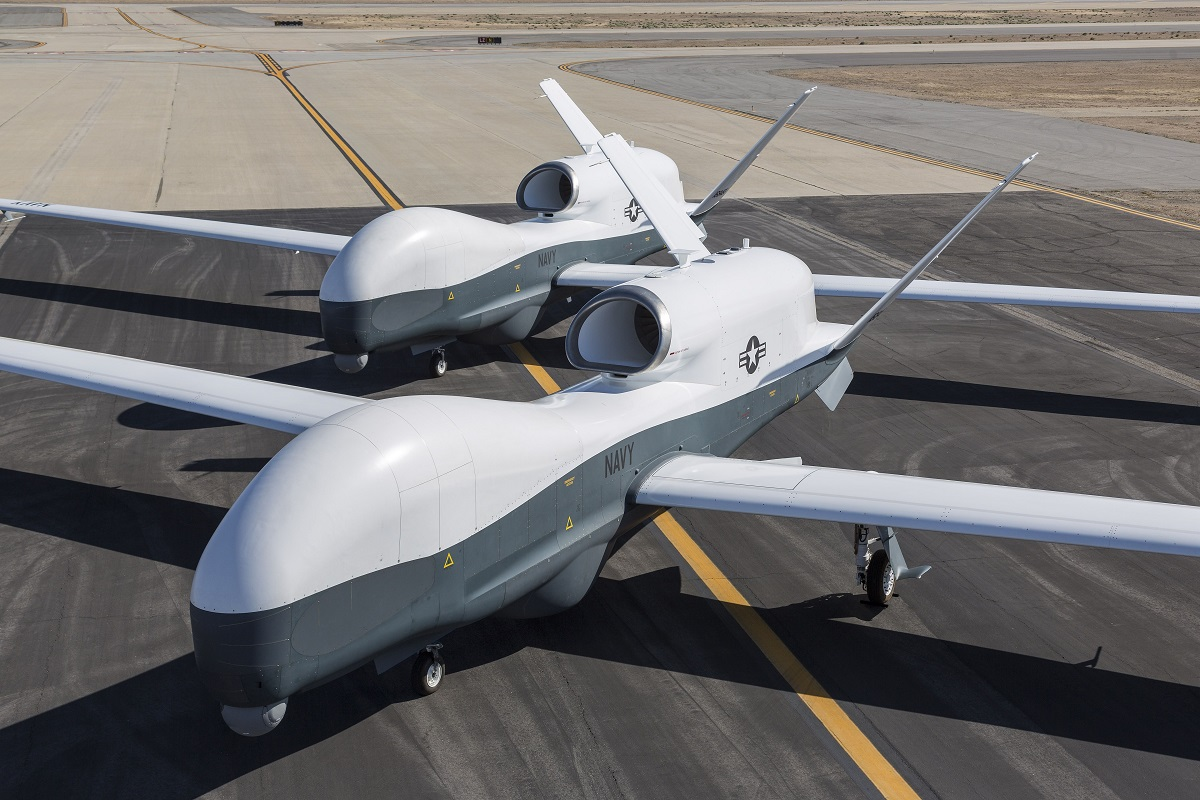 Future plans emerge for Navy's Triton surveillance drones