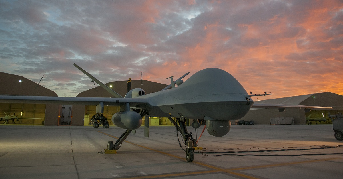The Marine Corps is bringing Reapers to Helmand