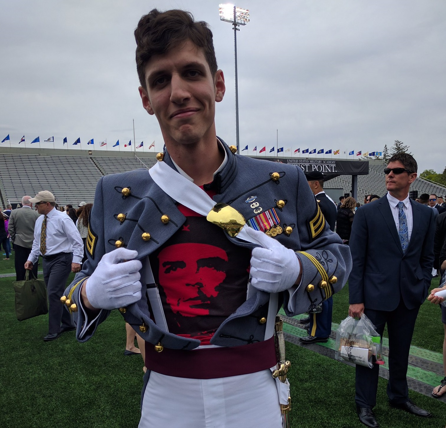 West Point superintendent responds to outrage over pro-Communist former cadet
