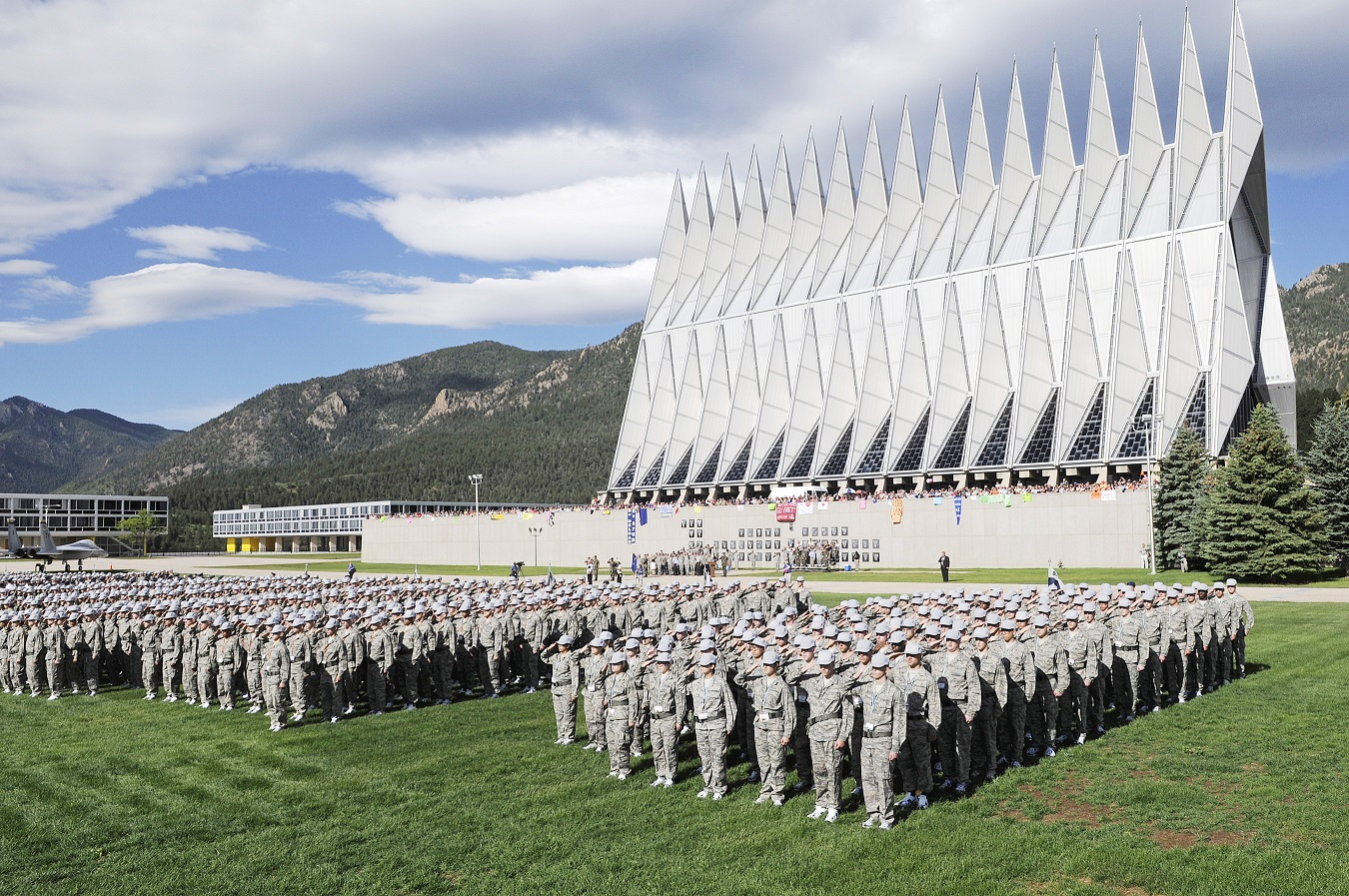 Racial slurs written on dorm room boards of black Air Force Academy cadet candidates