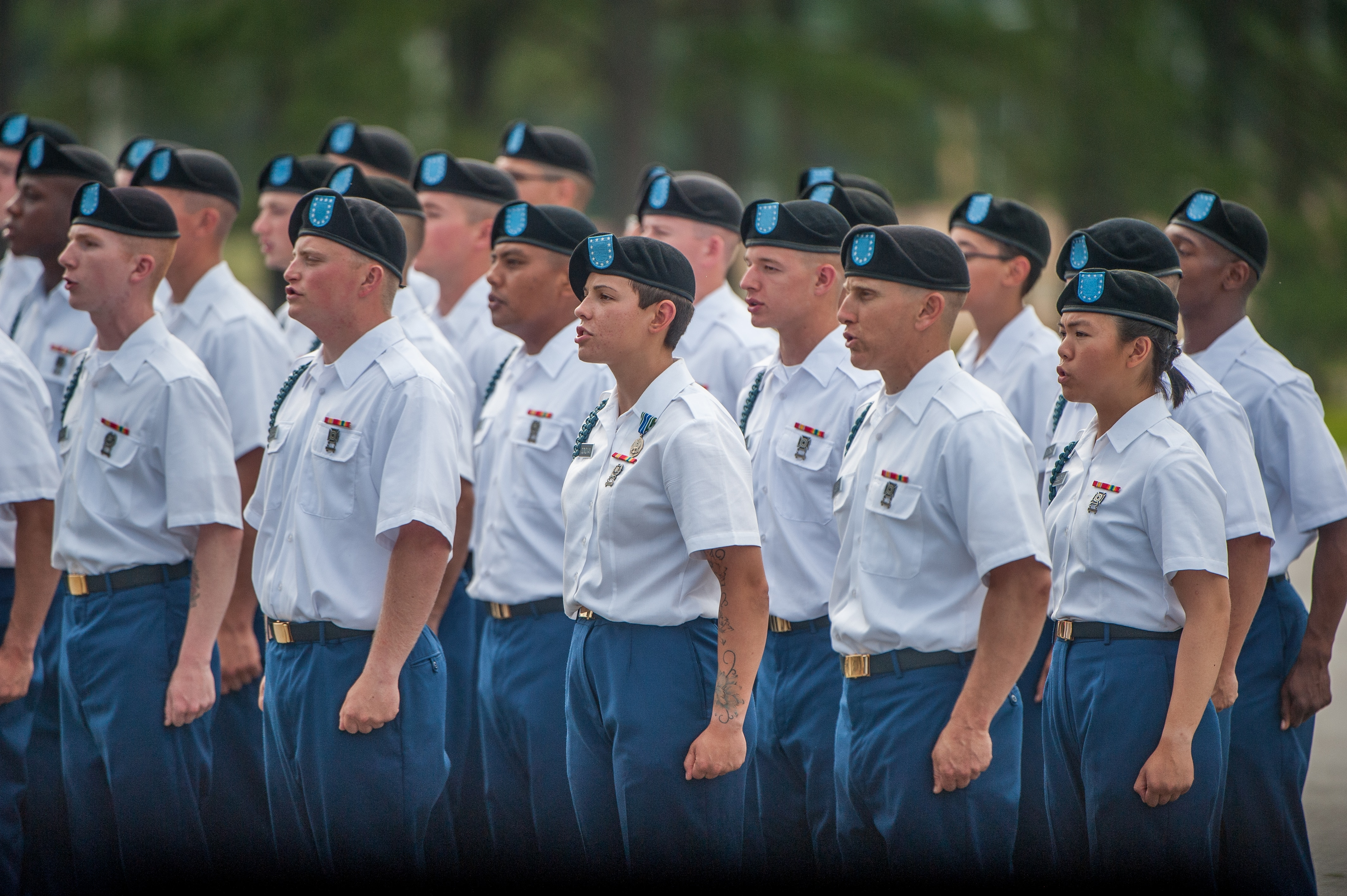 18 women graduate from the Army's first gender-integrated infantry basic training