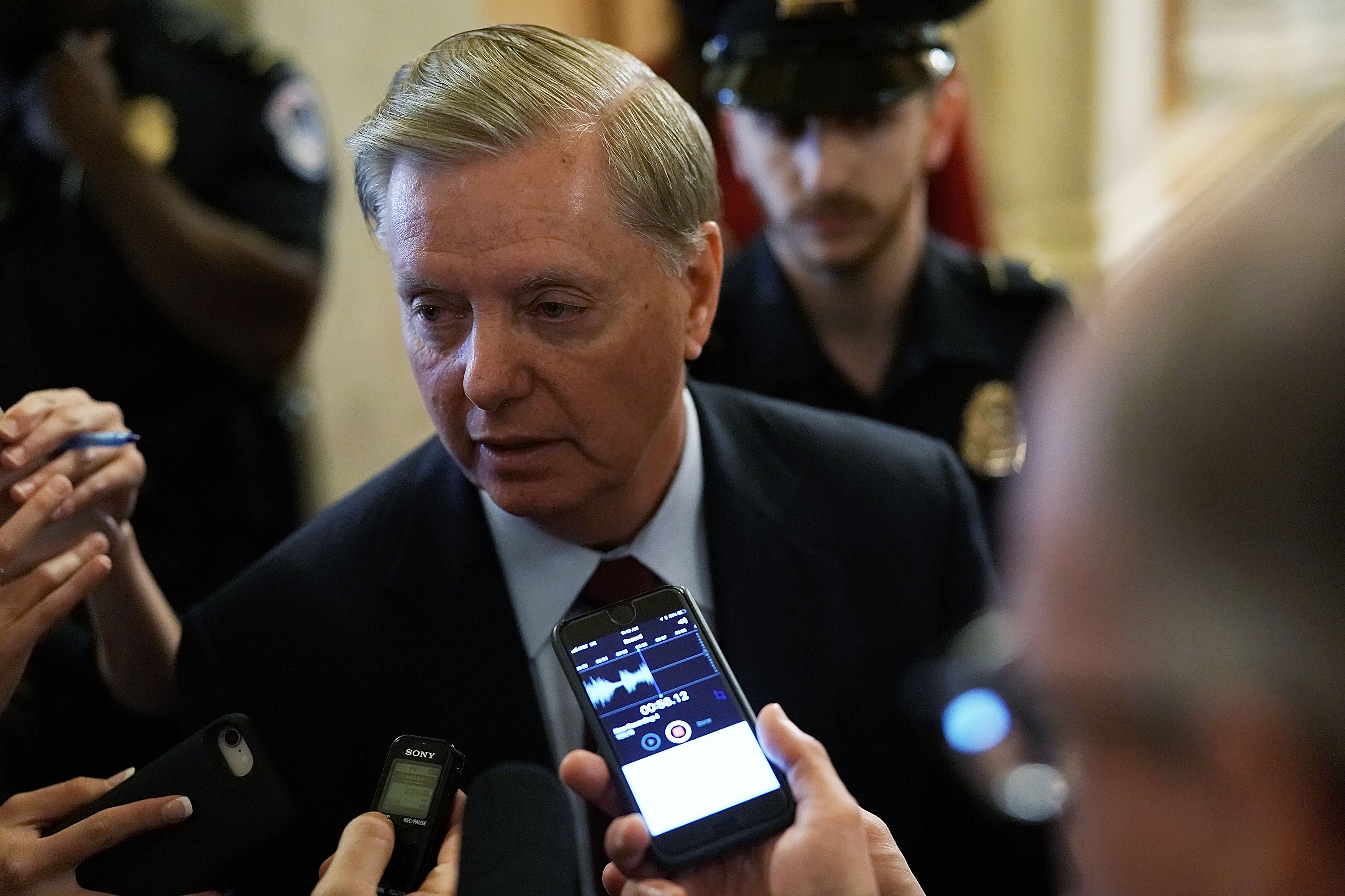 Sen. Lindsey Graham, R-S.C., has fought efforts in Congress to block arms sales to Saudi Arabia. (Alex Wong/Getty Images)