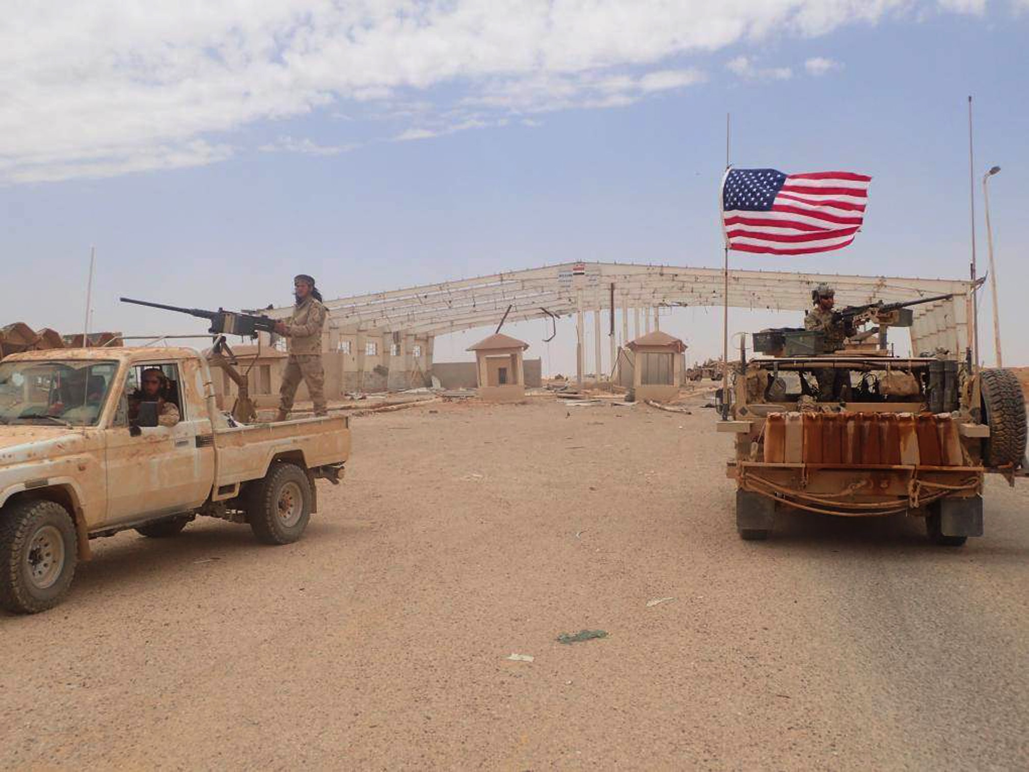 US forces increasing combat power at Tanf, preparing for a fight with pro-Syrian regime militias