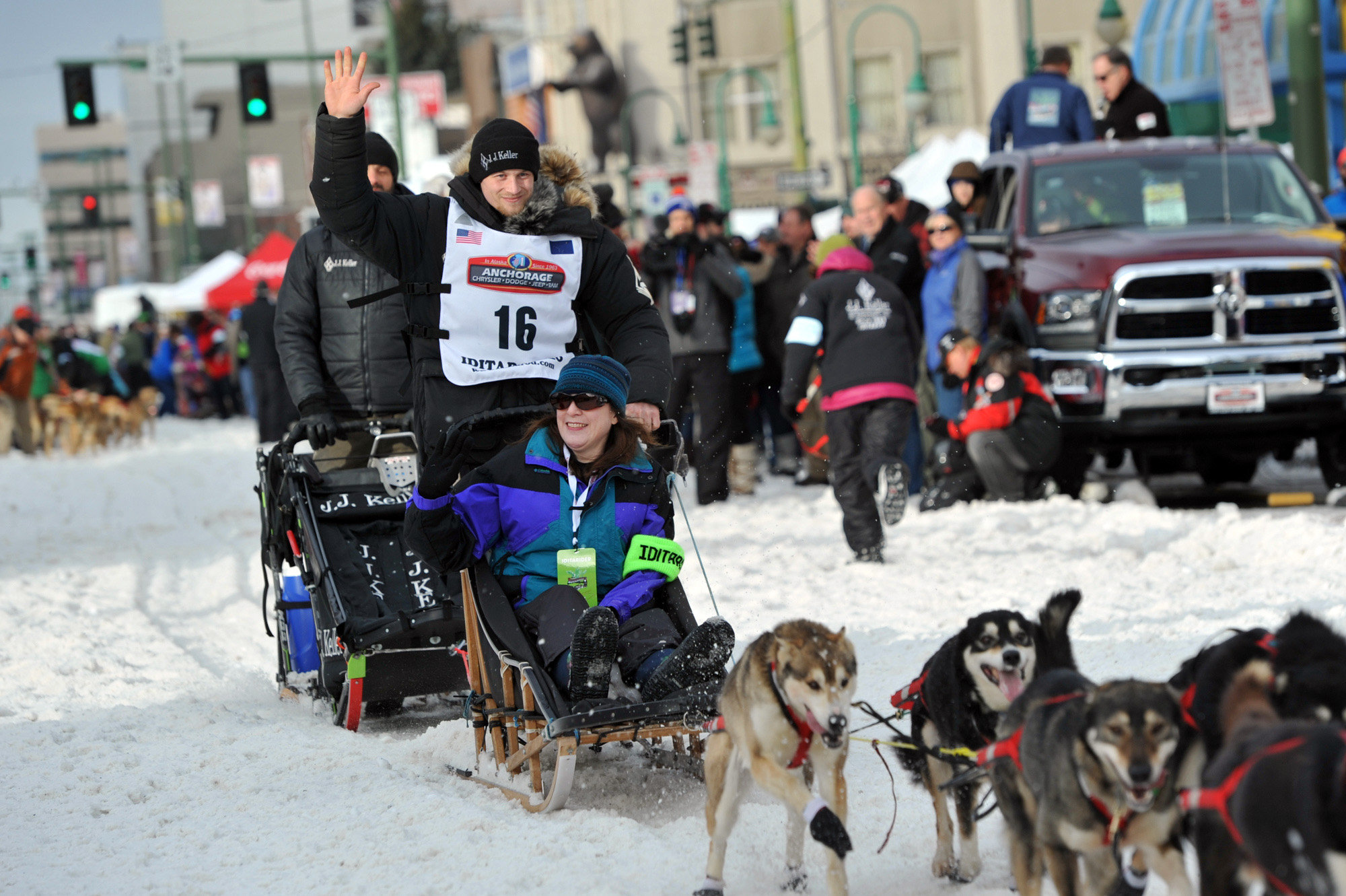 Soldiers marked the way for first full-scale Iditarod race