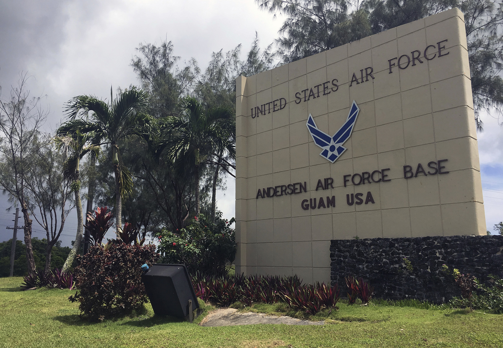 Airman 1st Class Isiaah Edwards has been found guilty of the murder of his roommate while in Guam. (Tassanee Vejpongsa/AP)