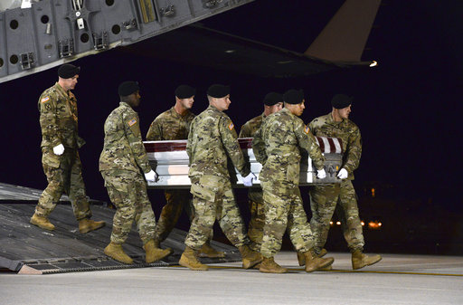 Did US soldiers caught in Niger ambush fall into enemy hands?