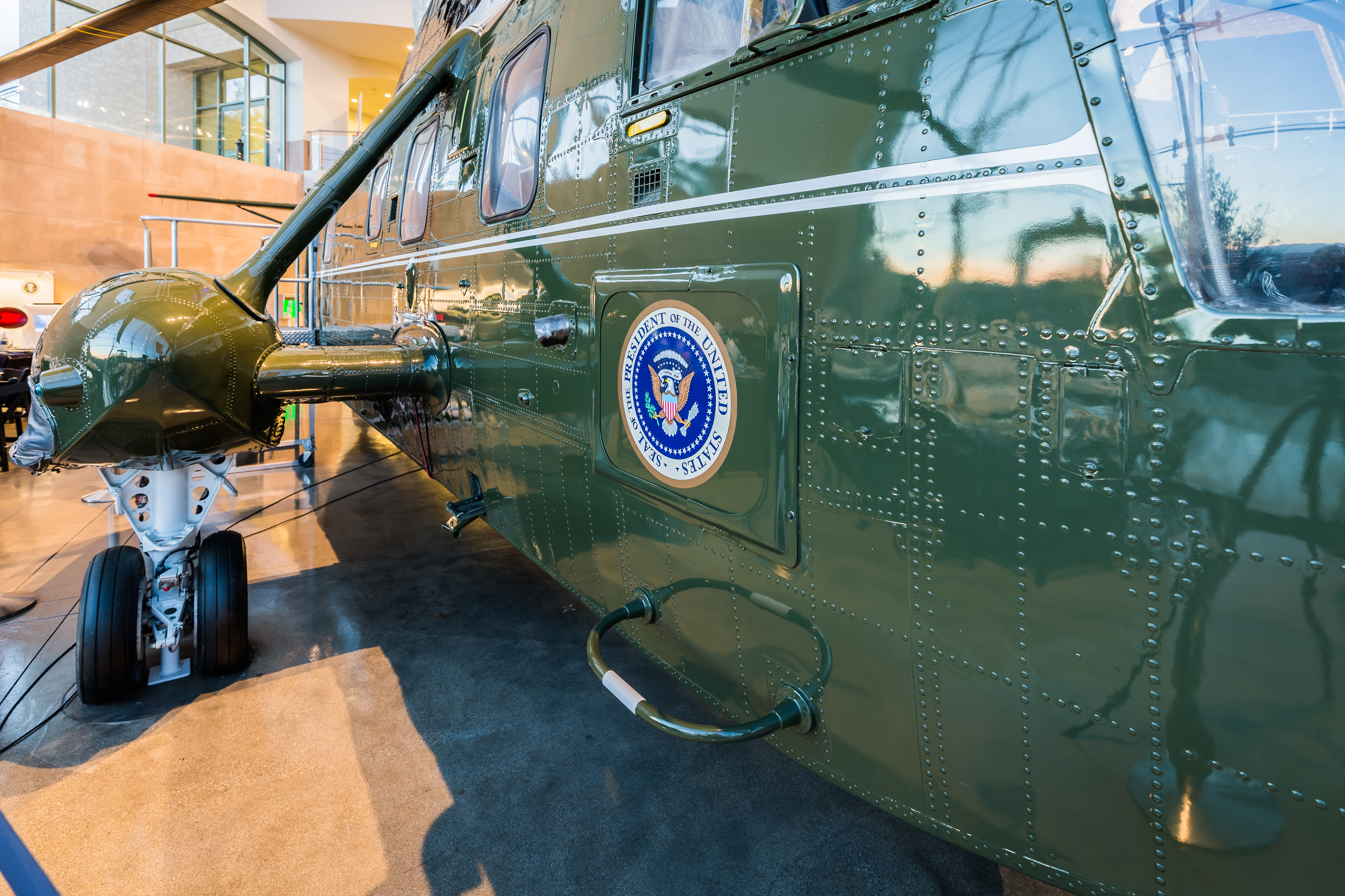 Take a tour of the Ronald Reagan Presidential Library and museum