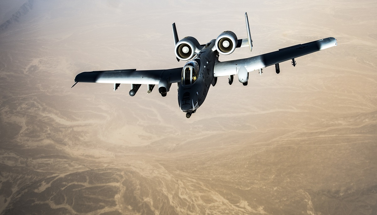 Portion of A-10 fleet to move into backup status in lead up to FY25