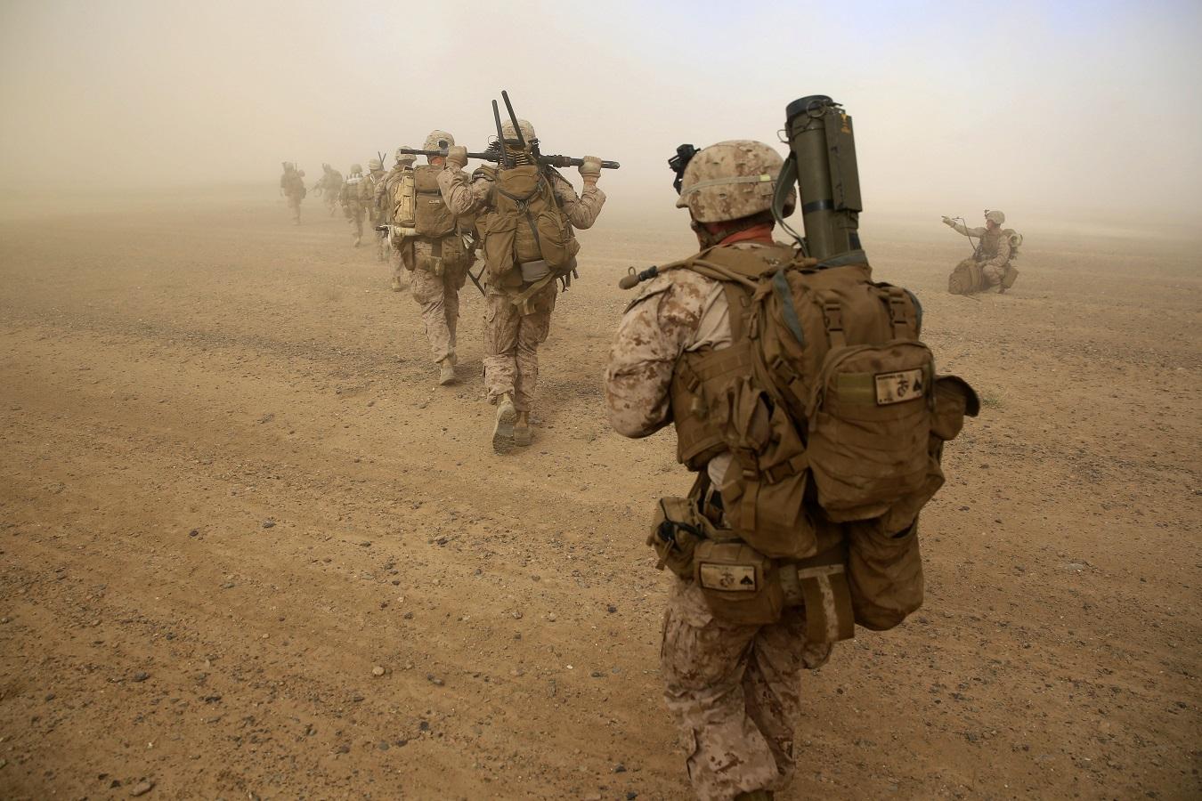 New Marines arrive in Afghanistan