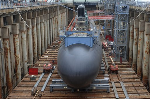 General Dynamics to pump nearly $2 billion into its shipyards