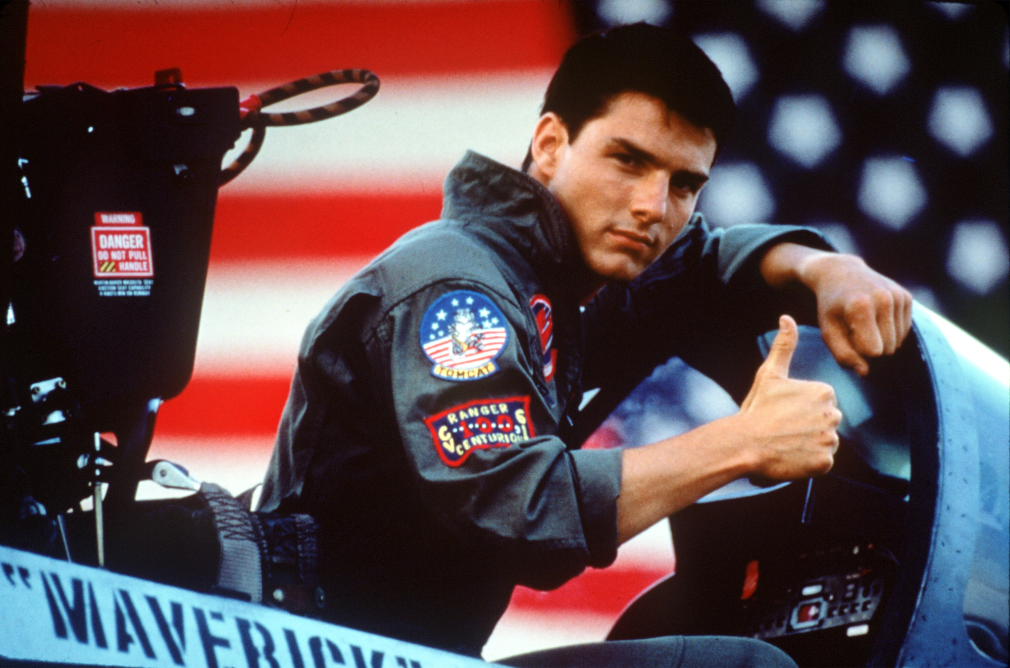 TR-FLIGHTFANCY -- Tom Cruise in a scene from the 1986 film