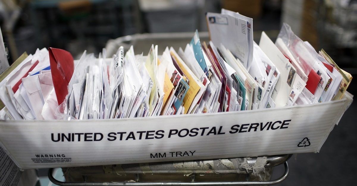 General Dynamics Information Technology was awarded a nearly $500 million contract to help the U.S. Postal Service modernize its information technology. (Stephen Lam/Getty Images)
