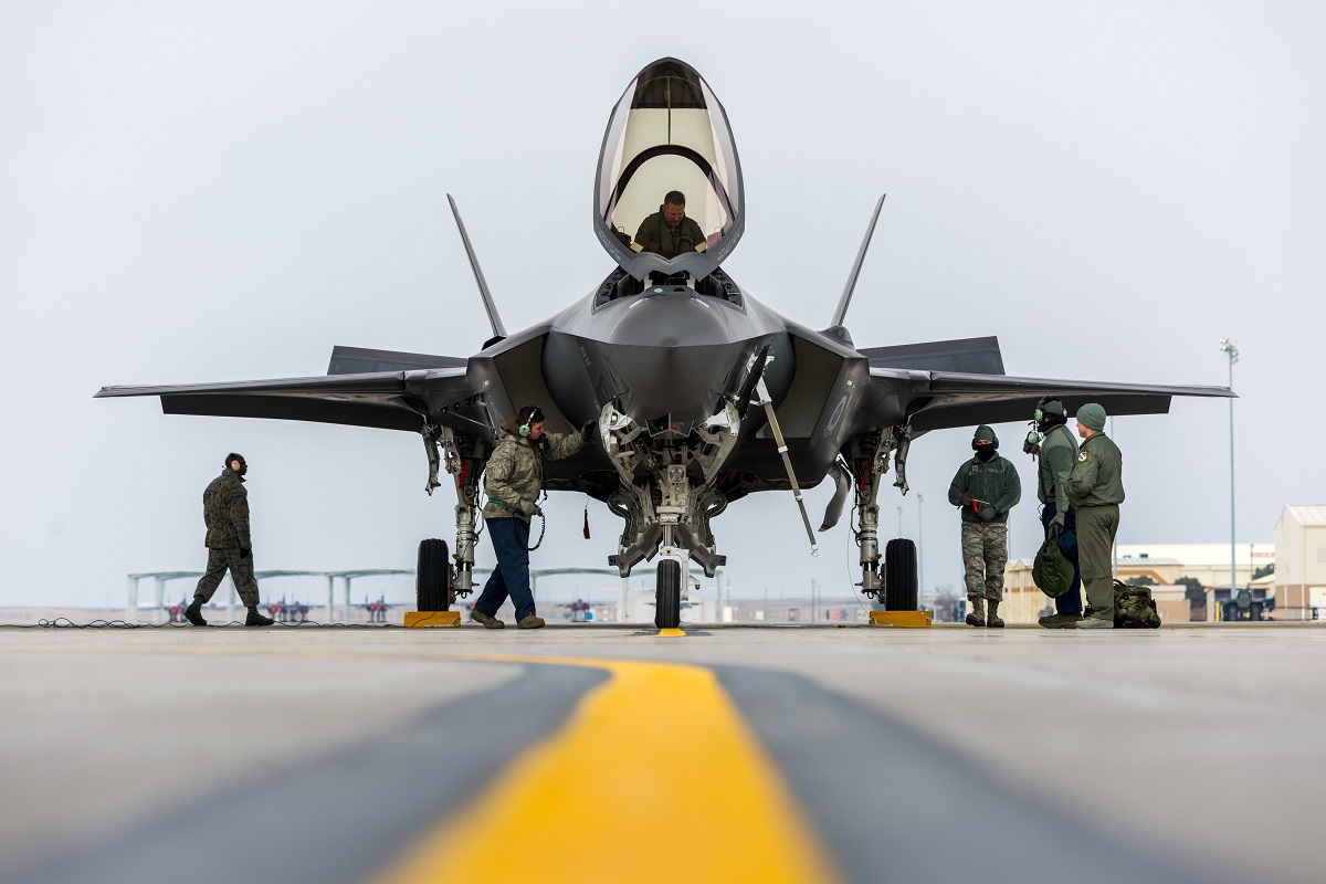 Pentagon 'can't afford the sustainment costs' on F-35, Lord says