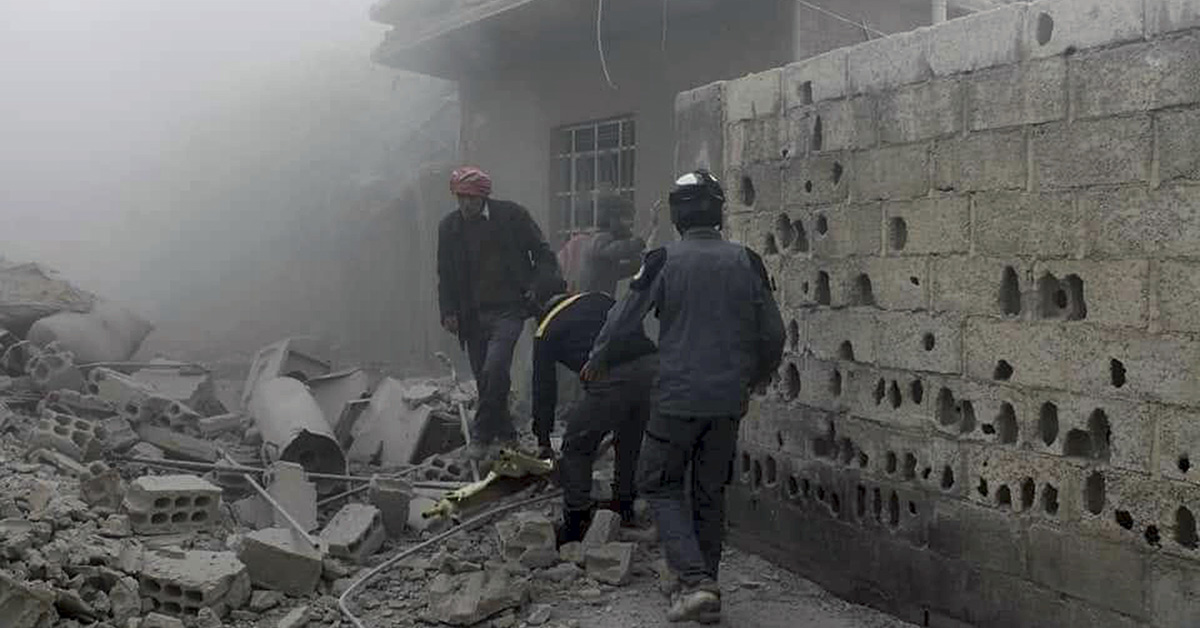 US and Russia clash over blame for Syria chemical attacks