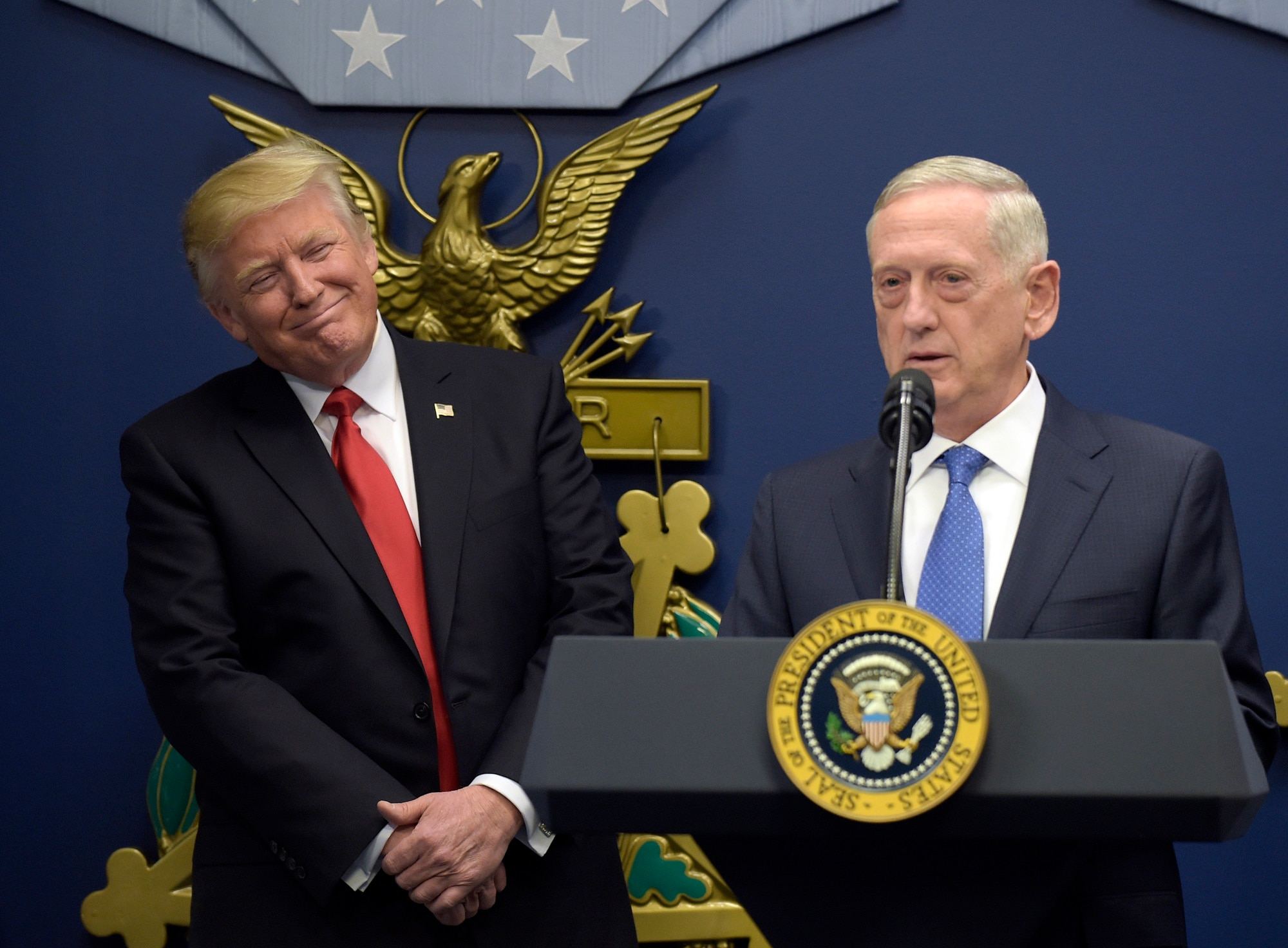Sources: Mattis, Ricardel clashed over Pentagon appointees