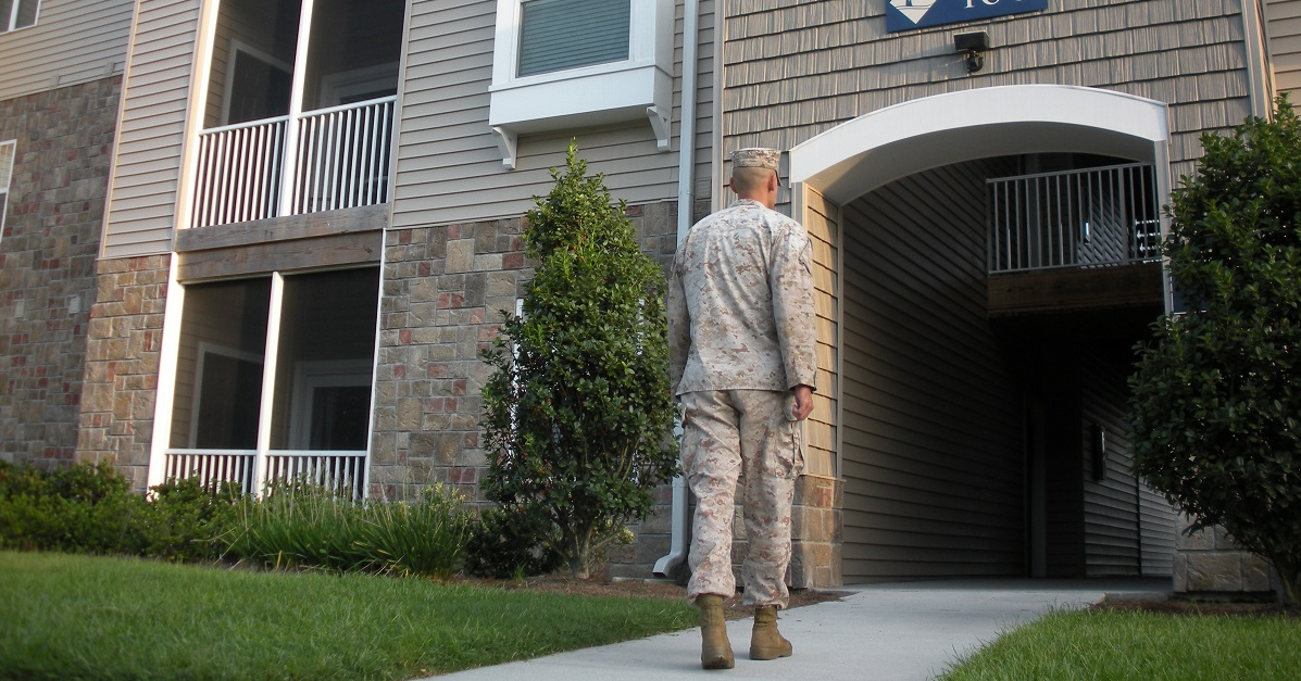 Military members will be expected to pay 4 percent of their housing costs out of pocket this year. (Cpl. Isaac Lamberth/Marine Corps)