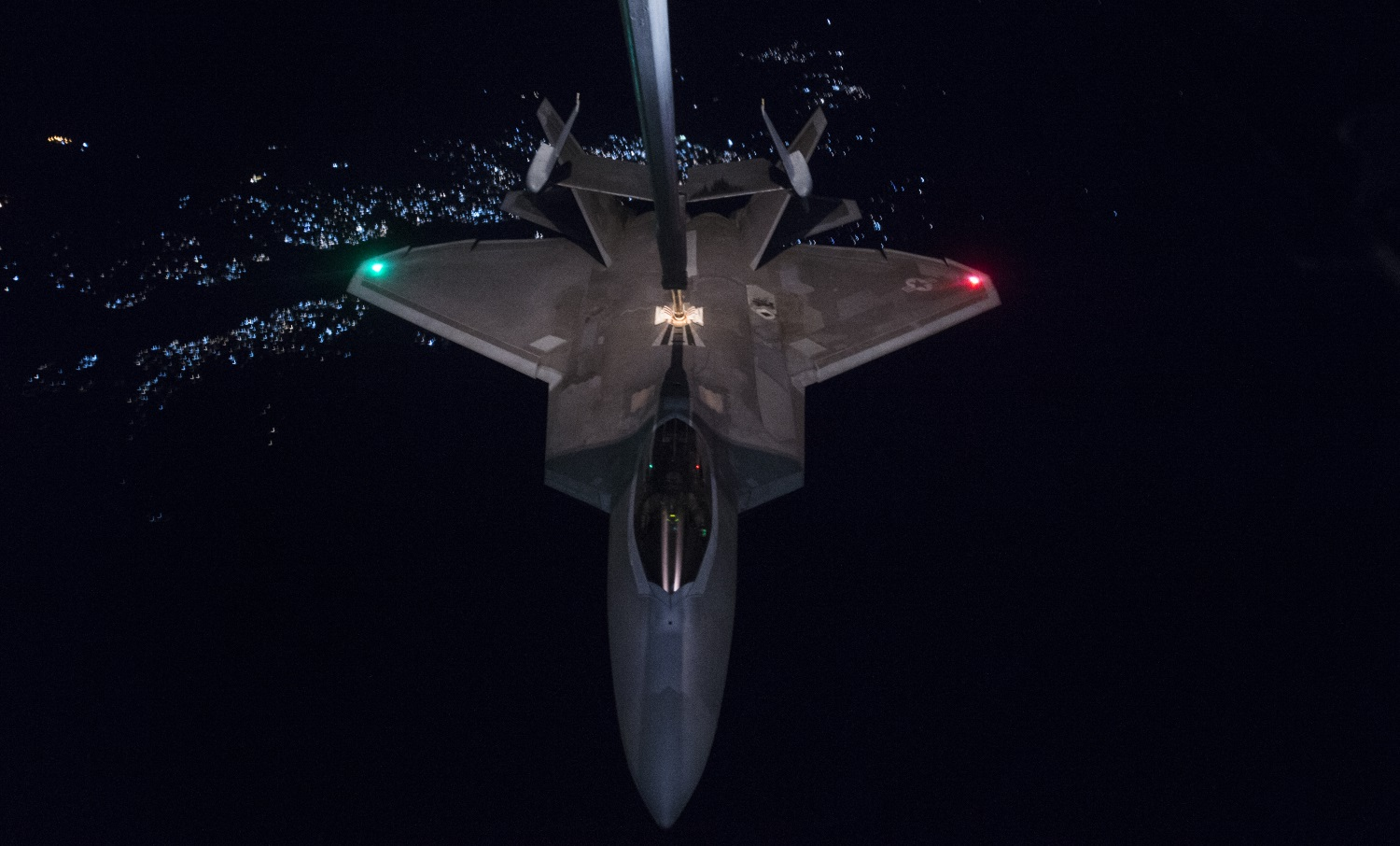 F-22s conduct first airstrikes in Afghanistan