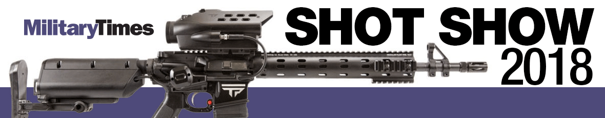Military Times cover of SHOT Show 2017