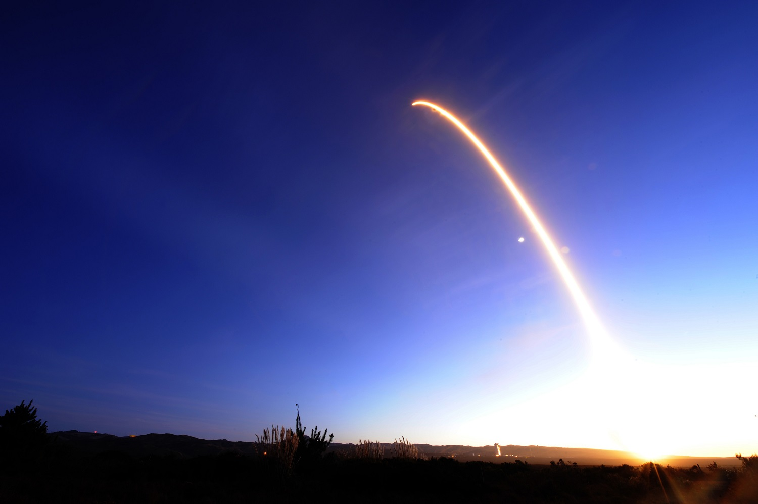 Vandenberg Air Force Base supported the successful launch of the fourth Iridium mission on a SpaceX Falcon 9 rocket on Dec. 22, 2017. (Tech. Sgt. Jim Araos/U.S. Air Force)