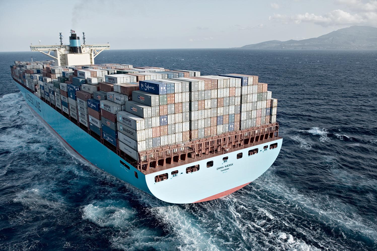 Emma Maersk #6.