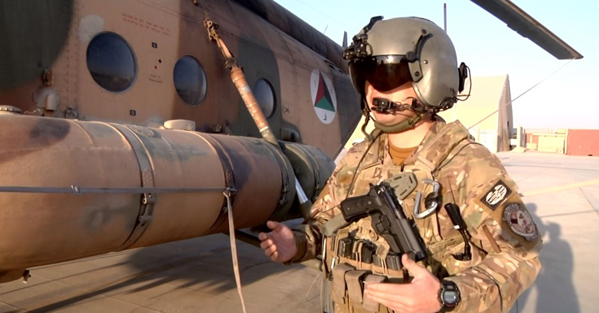 Meet the first Afghan Special Forces instructor pilot trained in-country