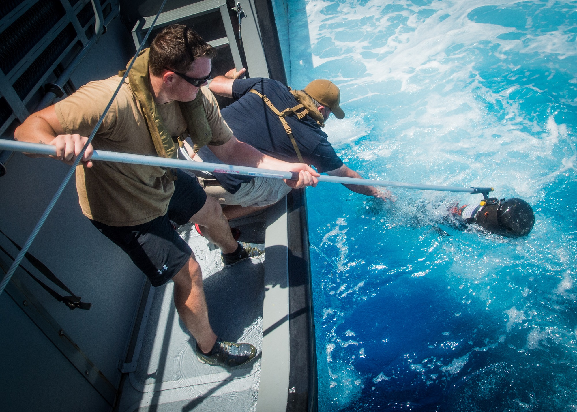 Navy stands up first underwater drone squadron