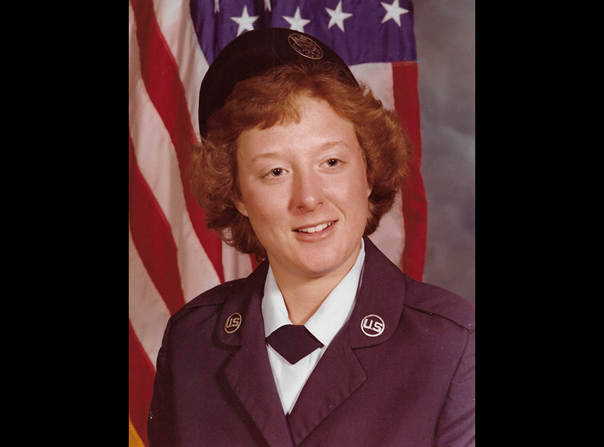 Lorie Clark was stationed at George AFB from 1980 to 1983 as an aviation ground electronics technician and gave birth to both of her daughters while serving there. Clark and both of her daughters have chronic migranes, cysts and both daughters have experienced miscarriages. Clark wonders whether she was exposed to toxic elements at the base that contributed to these issues. (Photo courtesy Lorie Clark)