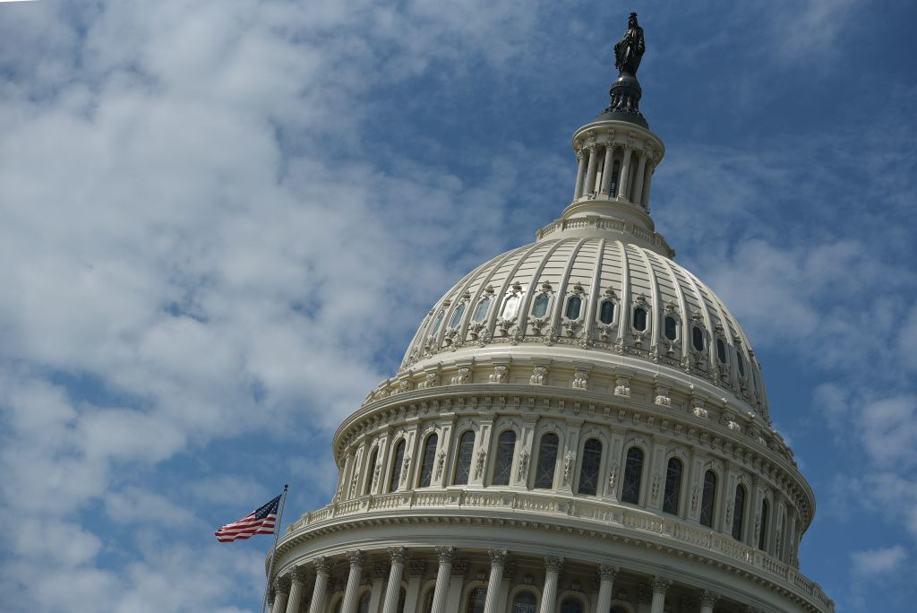 How often does Congress use continuing resolutions to prevent government shutdowns?